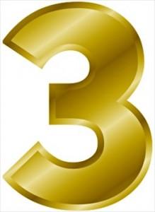 gold-number-3